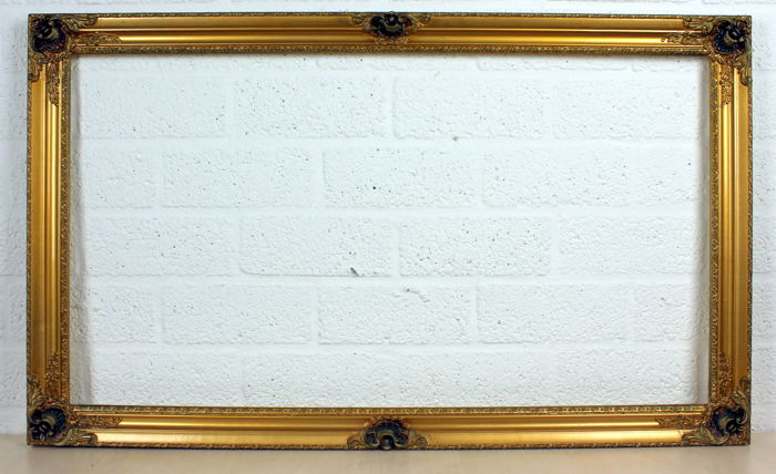 Classic, antique wooden picture frames - Catawiki