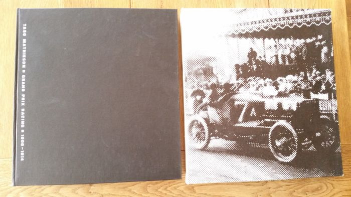 Grand Prix Racing 1906-1914 / Taso Mathieson - in original cardboard box