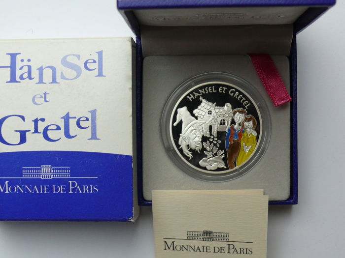 France – 1½ Euro 2003 'Hansel and Gretel' – silver