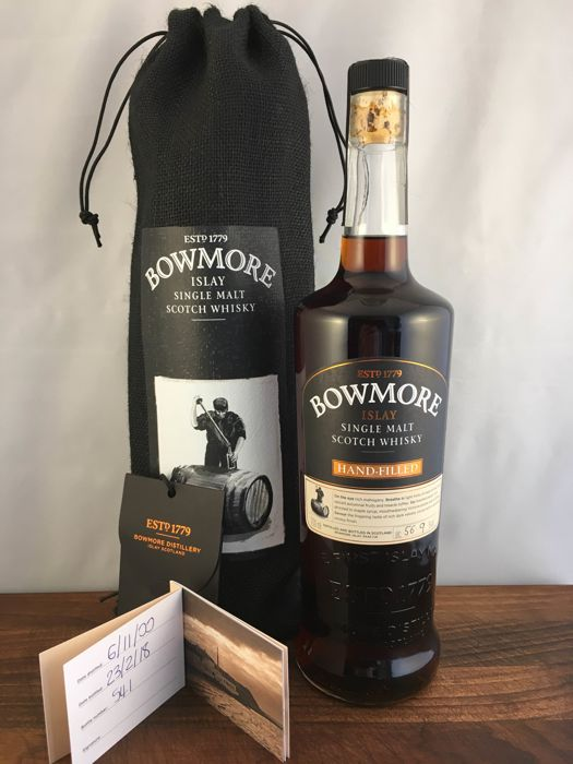 Bowmore 2000 17 years old - hand-filled
