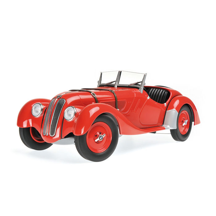 Minichamps - Scale 1/18 - BMW 328 1936 - Red