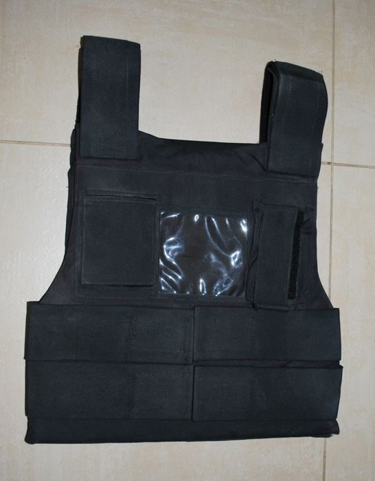 Kevlar Bulletproof Vest, 3d Level Protection, One Size, Adjustable, Parnisari