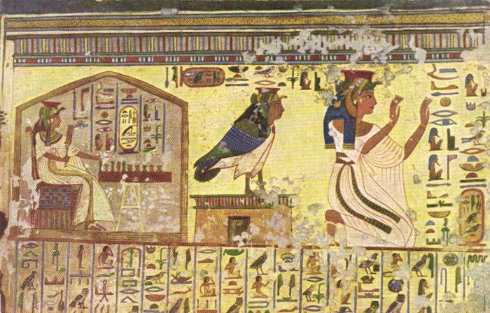 Egyptian Antiquities and Art 76X - Pyramids, Wall paintings and ...