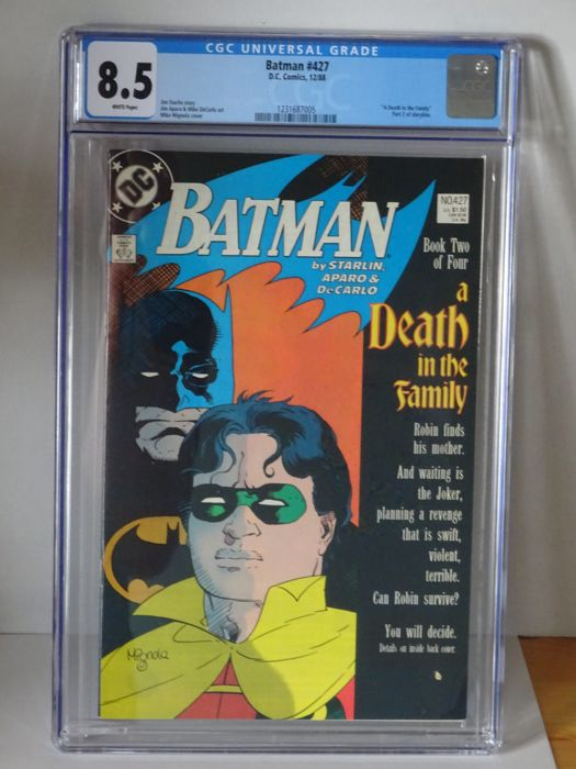 Batman #427 - DC Comics - CGC Graded 8.5 - (1988)