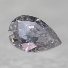 UNTREATED AND UNHEATED PEAR-CUT 100% Natural D SI1 Diamond weighing 0.65 ct [No Reserve price] low price shipping