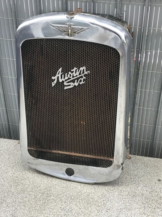 Austin six - grille with radiator UK