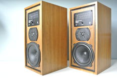 B&W DM5 vintage top class speakers with walnut cabinet as new