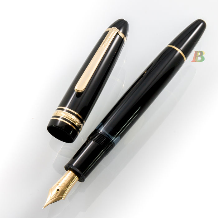 montblanc meisterst ck n 146 le grand fountain pen. Black Bedroom Furniture Sets. Home Design Ideas