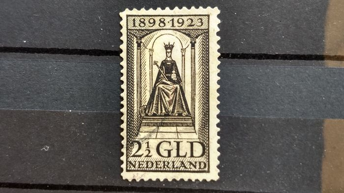The Netherlands 1923 - Anniversary of the reign of Queen Wilhelmina - NVPH 130