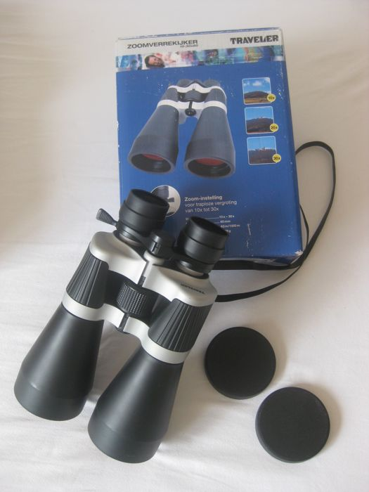 Powerful binoculars TRAVELER 10 - 30 x 60.