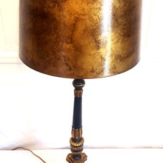 Empire style table lamp candlestick, France, second half 20th century