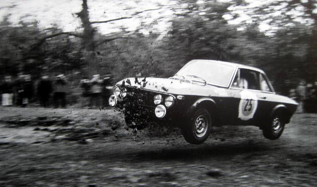 Decorative object -  Lancia Fulvia 1,3HF - Harry Kärlström - Rac Rally - 1968 (1 items)
