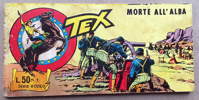 Tex striscia – serie Rodeo completa 1/19 (1967)