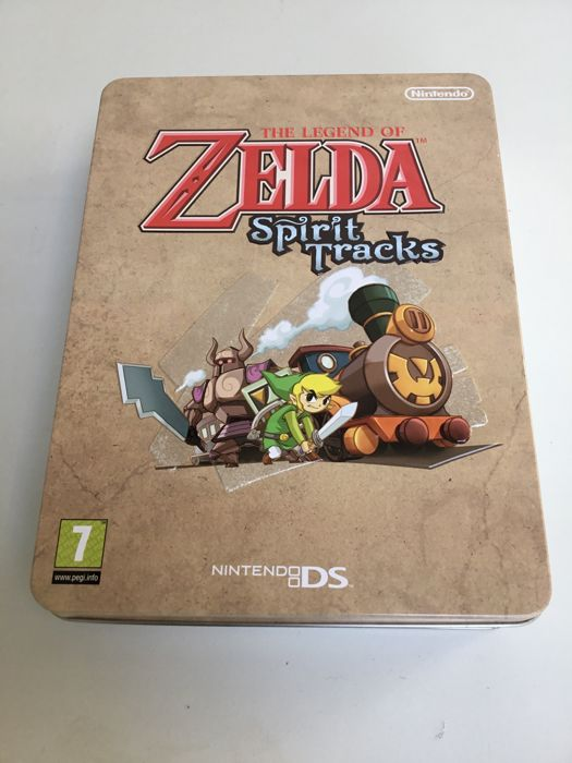 Limited edition box Zelda spirit tracks Nintendo Ds - Rare