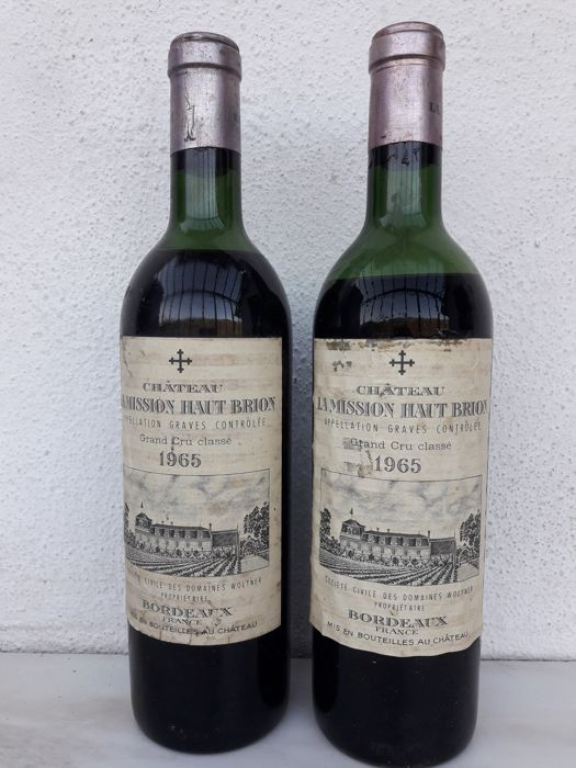 1965 Chateau La Mission Haut-Brion, Pessac-Leognan - 2 bottles