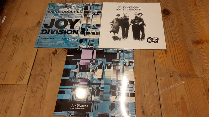 Three albums of Joy Division || Limited Edition || Great Quality || Still Sealed