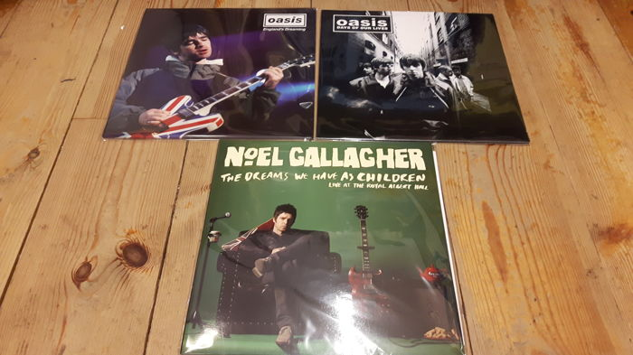 Three albums of Oasis/Noel Gallagher || Great Lot || Still Sealed