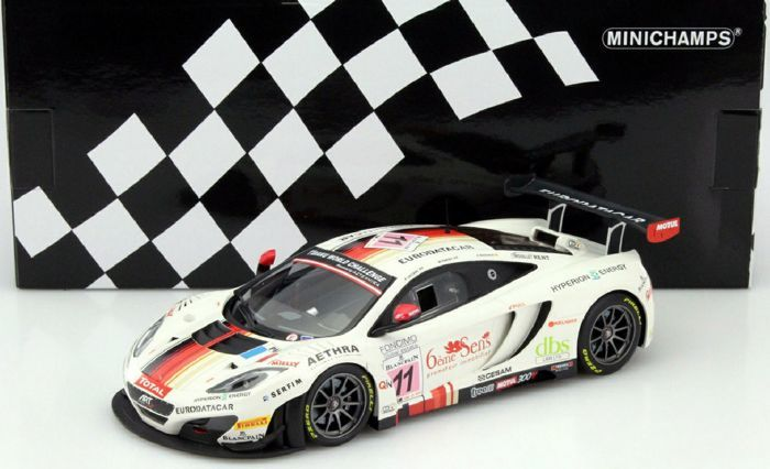 Minichamps - Scale 1/18 - McLaren 12C GT3 Art Grand Prix #11 24H Spa 2013