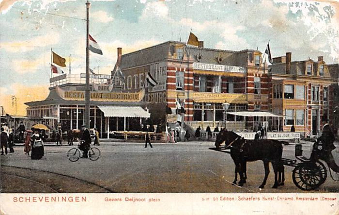 The Netherlands Scheveningen 125 x with a couple of very nice cards