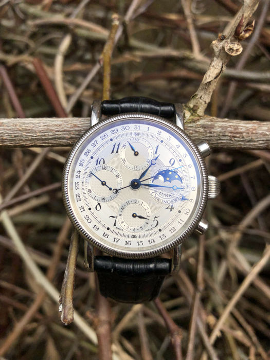 Chronoswiss - Lunar Chronograph Moonphase  - CH7523L - Unisexe - 2000-2010