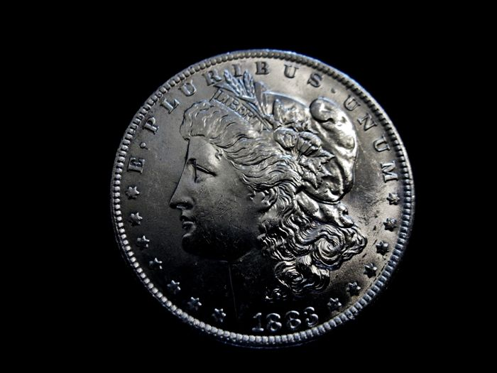 United States - Dollar (Morgan) 1883 (New Orleans) - silver