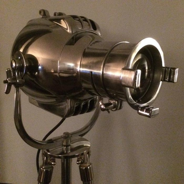 Strand Electric – Patt 23 vintage theatre spotlight