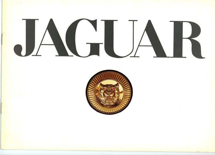 Jaguar E Type V12 Series 3 XJ6,XJ12  Brochure French text