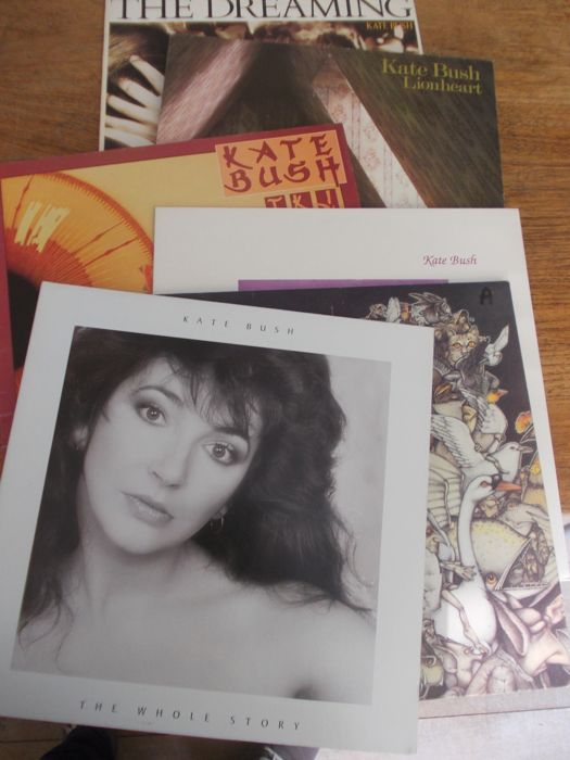 Nice Lot with 10 great Records of Kate Bush