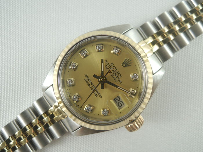 Rolex - Oyster Perpetual Datejust 6917 - Femme - 1970-1979