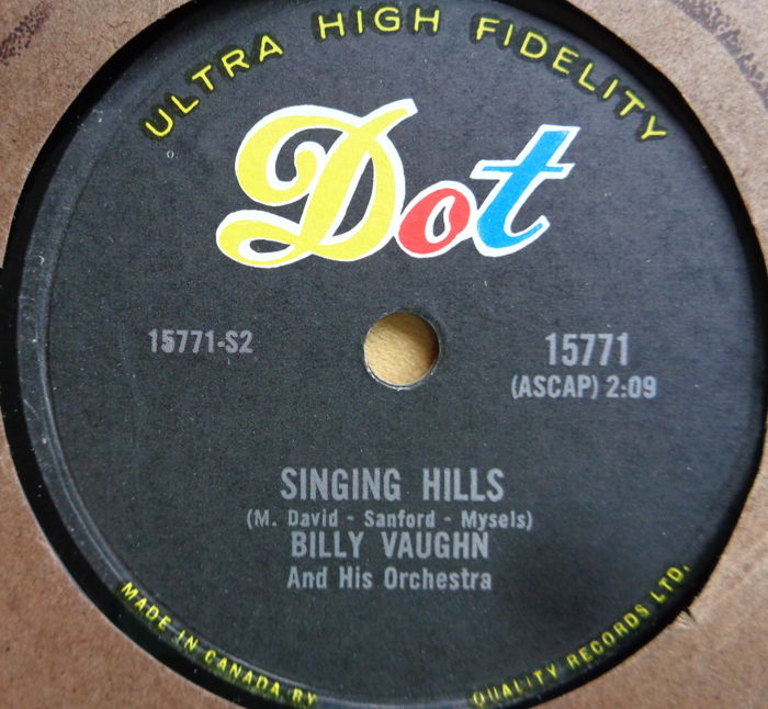 "78 RPM RECORDS, 20 TOP RECORDS FROM THE ""FIFTIES"""