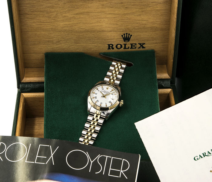 Rolex - Oyster Perpetual Date - 6900 - Dames - 1983