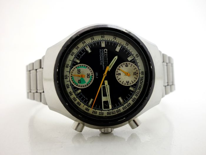 Citizen - Vintage 8110A Automatic Flyback Chronograph - Homme - 1970-1979