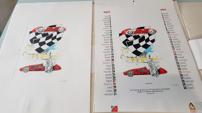 Ferrari Lithographs