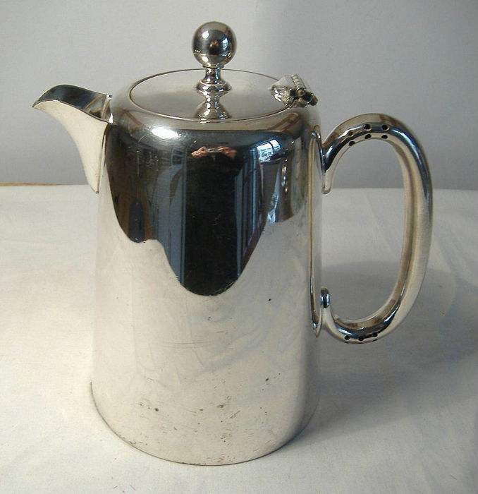 Hotel Ware, silver plated service teapot, by Welbeck - The Alex Clark Co. London.