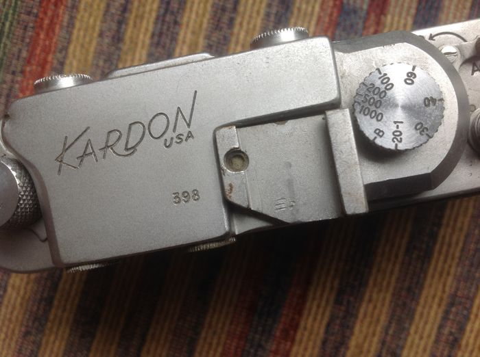 KARDON USA rangefinder Leica copy, screw thread