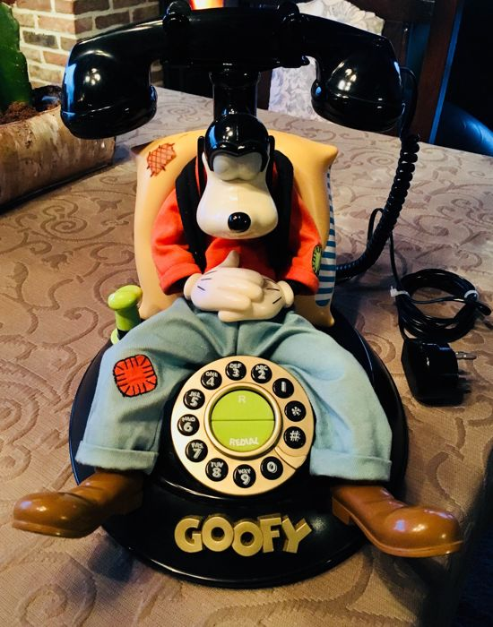 Disney Telefoon -  Talking Goofy