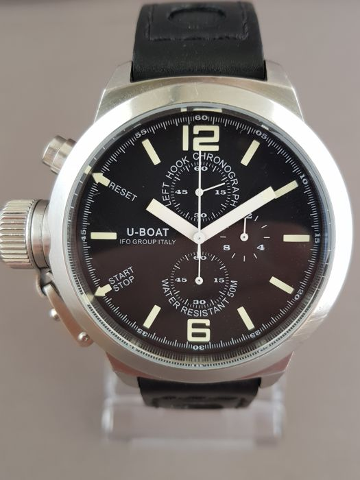 U-Boat - Left Hook Limited Edition Chronograph - B45-08 LIO46M - Heren - 2011-heden