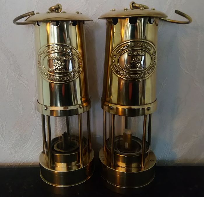 Cambrian mining lamps