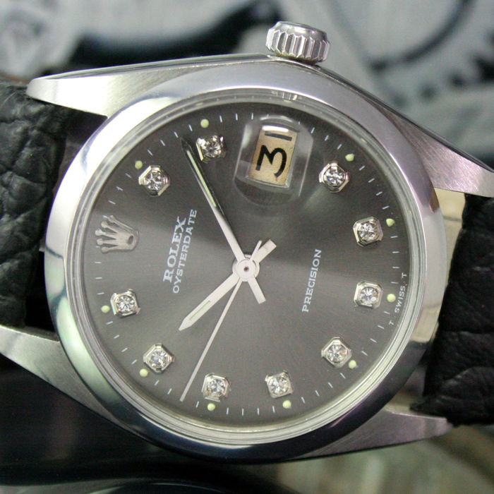 Rolex - Oysterdate Precision  - 6694 - Homme - 1973s