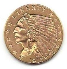 United States - 2.5 Dollars 1915 -