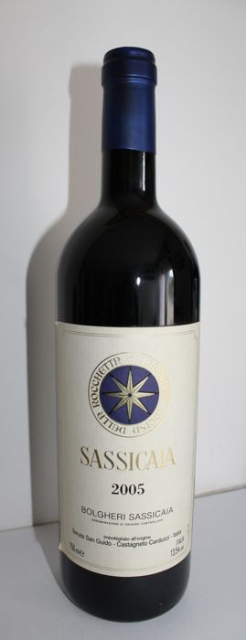2005 Sassicaia, Tenuta San Guido Bolgheri - 1 bottle(75cl)