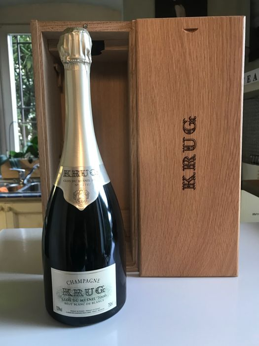 2000 Krug Clos du Mesnil Blanc de Blancs Brut, Champagne - 1 bottle in box