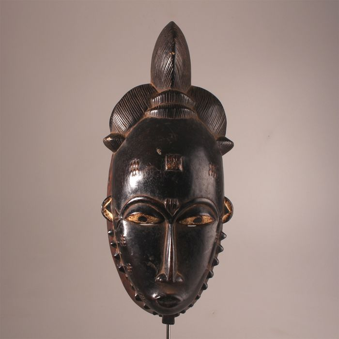 Exquisite Baule Mask - Ivory Coast