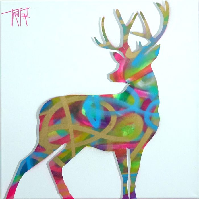Truteau - The Deer (Pink)