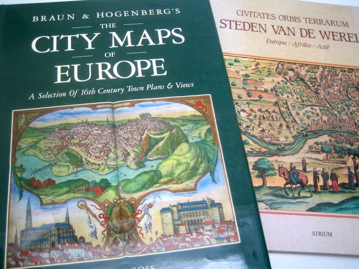 Reference works; Braun & Hogenberg's The City Maps of Europe - 1991