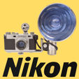 Auktion over fotografika (Nikon)