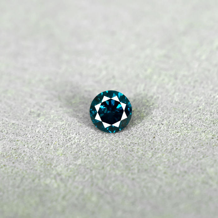 Blue Diamond - 0.23 ct