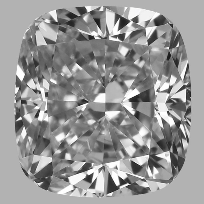 0.50ct Cushion EVVS1 with IGI Certificate #-2708