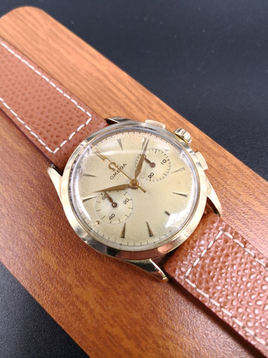 Omega - Chronograph Cal.320 Gold - Homme - 1950-1959