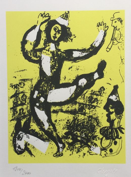 Marc chagall  - Chagall Lithographie Tome 1